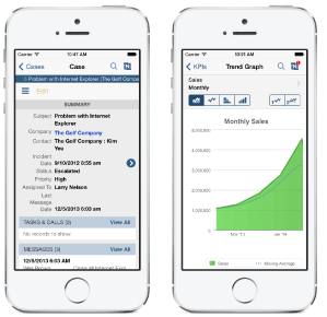 NetSuite CRM Mobile
