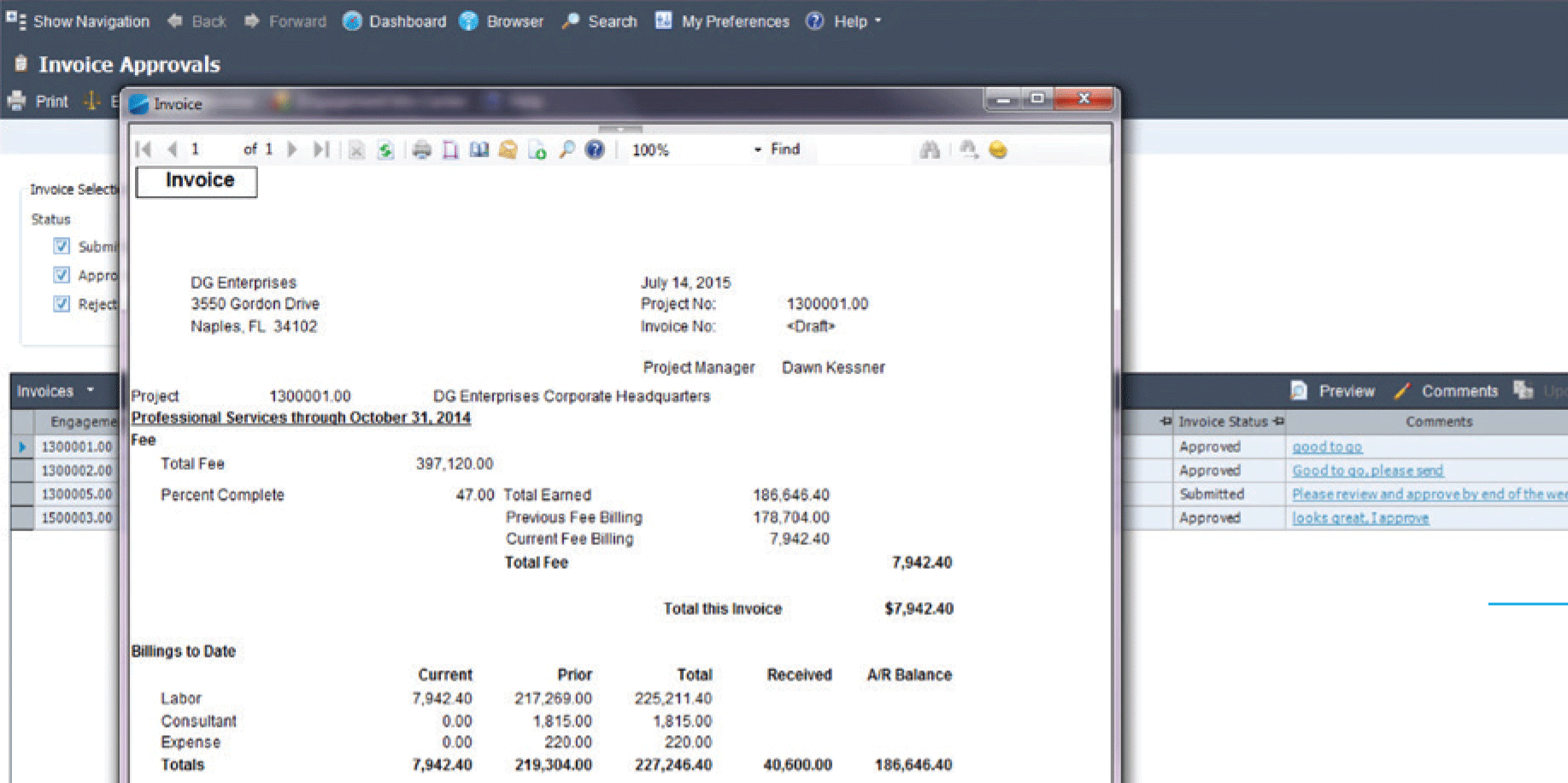 deltek for professional services psa project accounting